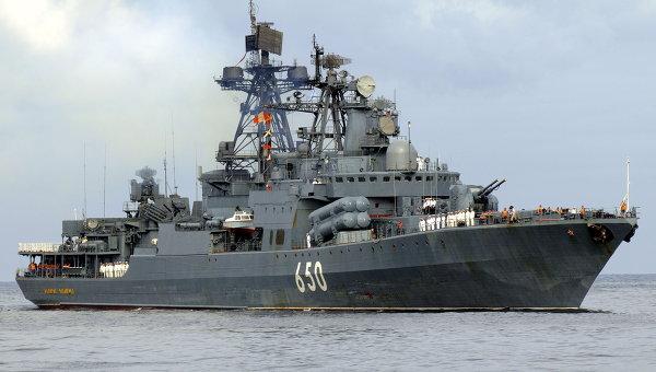 La Marina y el Ejército Ruso  movilizados a favor de Siria