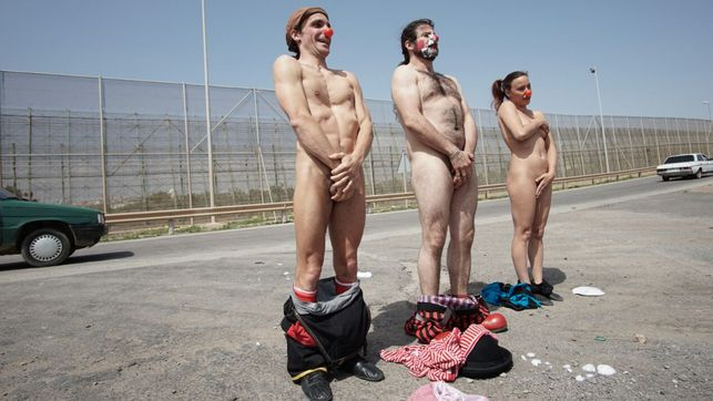 Miembros de la guardia desnuda kentucky