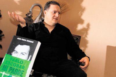 CORTESIA CORTESIA , SOLO UNA VEZ SE PUEDE UTILZAR LA FOTOS. Juan Pablo Escobar, hijo del capo Pablo Escobar, en la presentación del libro Pablo Escobar Mi Padre. Crédito: Agencia Colprensa - Bogotá (Colombia)
