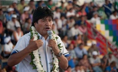 14 noviembre 2015, Santa Cruz.- El presidente Evo Morales Inaugura el Séptimo Congreso Departamental del MAS, en San Julián. (Fotos: Freddy Zarco)