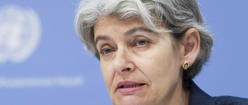 La directora de la UNESCO