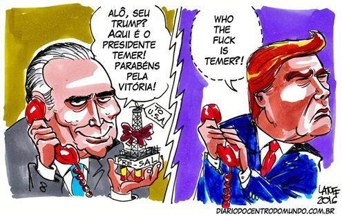 temer-parabeniza-donald-trump