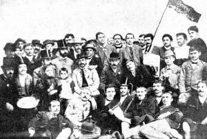 miembros-del-circulo-socialista-de-bucarest-1892