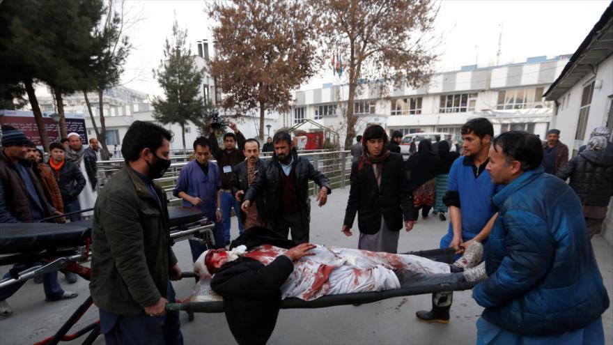 Resultado de imagen para 19 personas en atentado terrorista hoy en Kabul