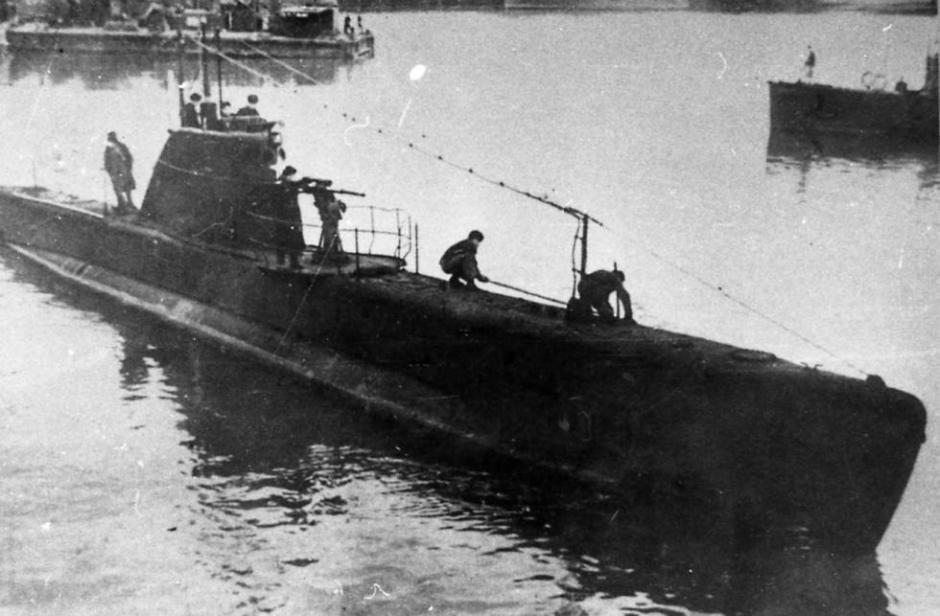 Submarino soviético M-98