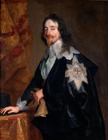 Carlos I de Inglaterra, ejecutado tras ser derrotado en la guerra civil entre realistas y parlamentarios. Oliver Cromwell se hace con el poder en 1649