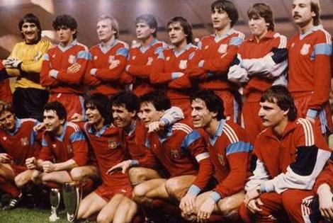Steaua de Bucarest, campeón de la Supercopa de Europa, 1987