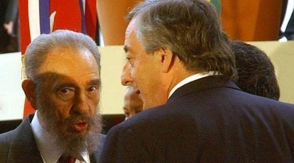Argentina Hist Rico Y Ltimo Viaje De Fidel Al Exterior