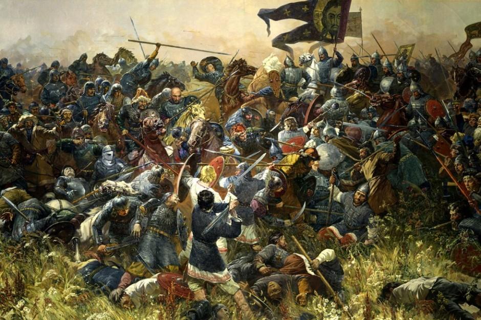 Batalla de Kúlikovo, Serguéi Prisekin, 1980.