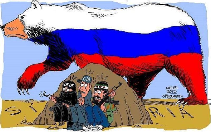 Rusia, la verdadera cara antiterrorista en Siria