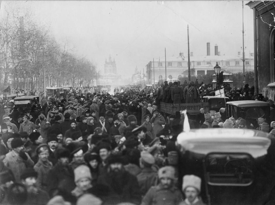Petrogrado revolucinario.