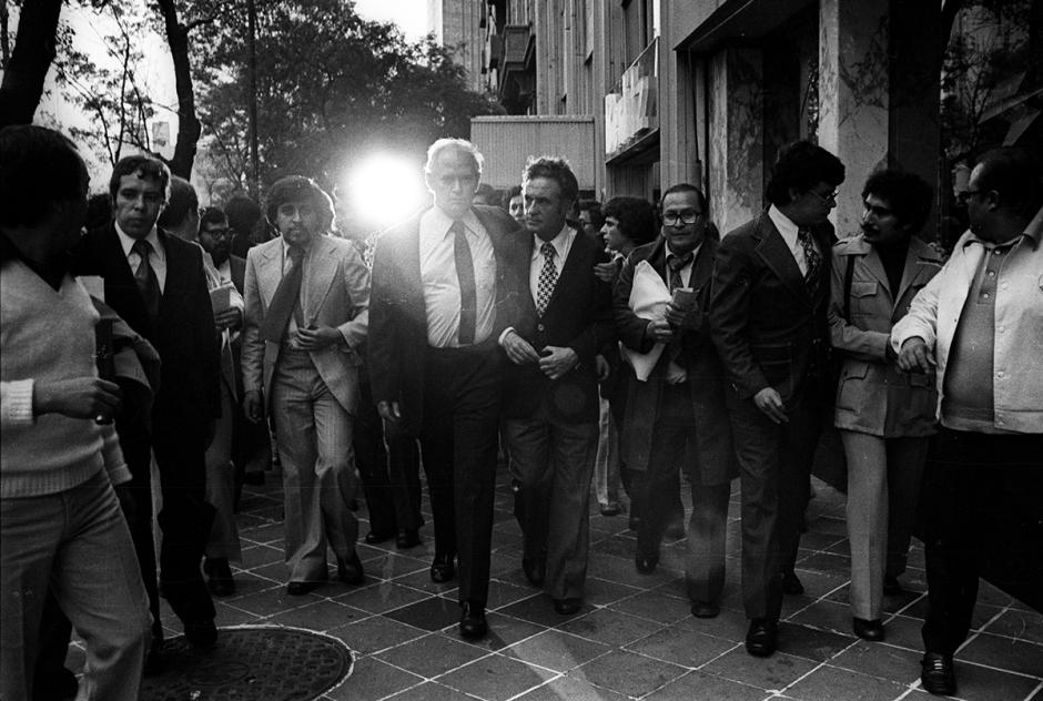 La salida de Excélsior el 8 de julio de 1976